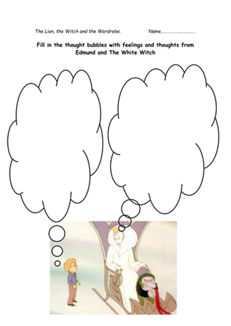 The The Witch And The Wardrobe Ks2 Resources by The The Witch And The Wardrobe Activities By