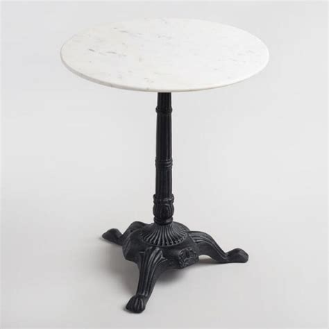 Marble Bistro Table Marble Bistro Accent Table World Market