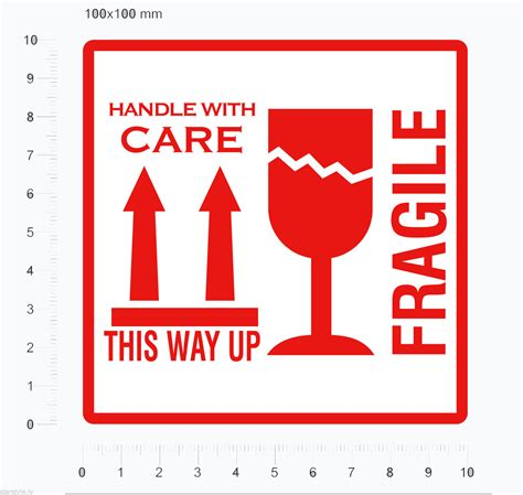 01 Fragile Sticker Label Stiker fragile stickers this way up shipping labels handle with care parcel stickers ebay