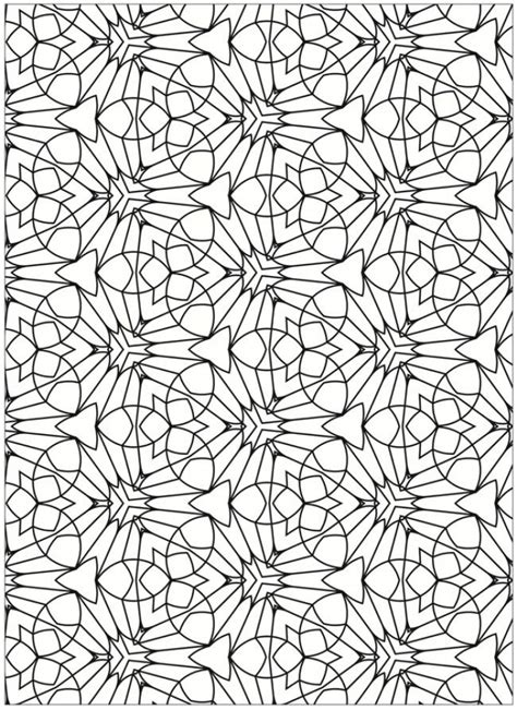 tessellation patterns coloring pages get this free tessellation coloring pages adult printable