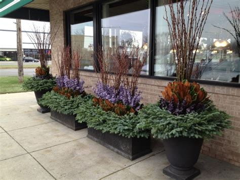 Winter Container Garden by Winter Container Gardening Dirt Simple