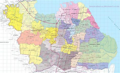 Terbaru Surabaya peta surabaya lengkap terbaru info surabaya