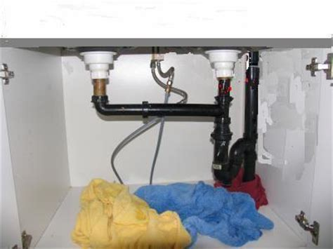 Kitchen Sink Plumbing Installation by 301 Moved Permanently