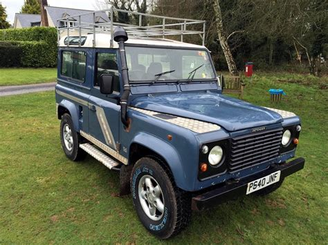british land rover defender 1996 land rover defender 90 for sale classic cars for