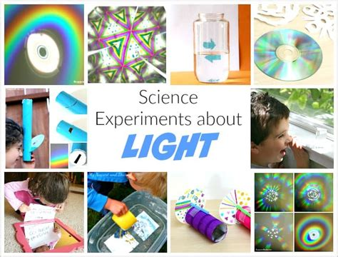 science project on light light science for ways to explore refraction and