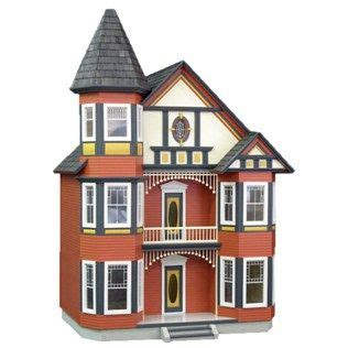 hobby lobby doll house painted ladies dollhouse kits and dollhouses on pinterest