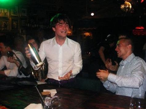 gary oldman hit songs daniel radcliffe hits the sauce is asked to leave bar
