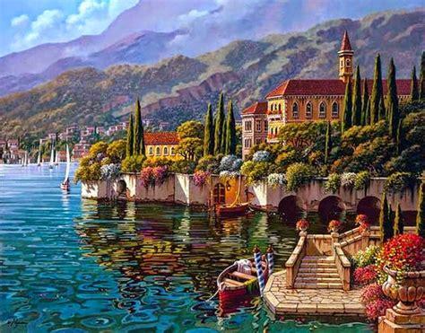 cuadros oleos paisajes oleos paisajes mediterraneos imagui