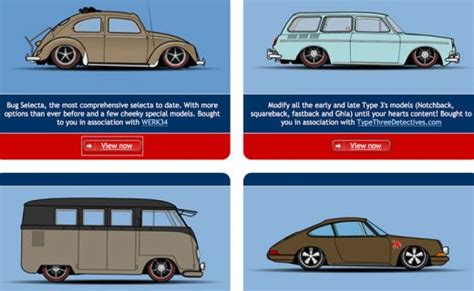 design your own vw bug design your own beetle bus porsche or type 3 petrolicious