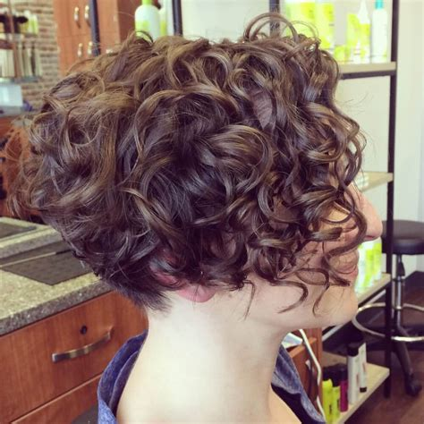 bob haircuts for curly hair front and back 31 sexiest short curly hairstyles for women in 2018