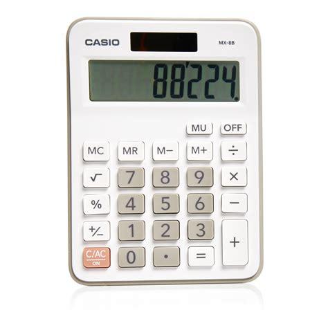 casio calculator casio electronic calculator mx8b at wilko