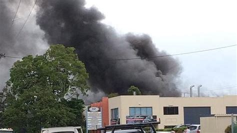 houseboat on fire gold coast a burleigh factory has been destroyed after it exploded