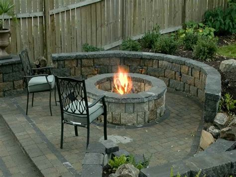 Circular Outdoor Fireplace by Ideas Outdoor Fireplace Plans Outdoor Fireplace