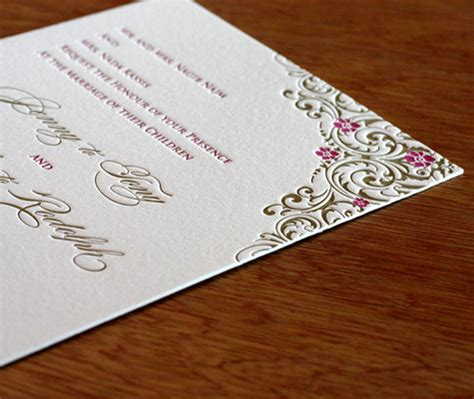 Thick Paper Wedding Invitations thick paper for wedding invitations 2 ply