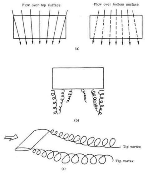 pattern formation of vortices aerodynamics of wing vortices