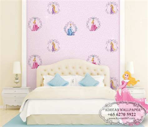 disney wallpaper for bedrooms disney princess wallpaper for kid s room study bedroom