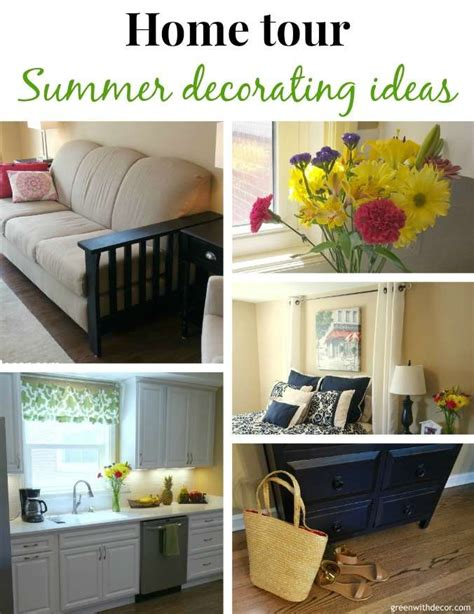 Home Decor Blogs House Tour Green With Decor Summer Home Tour