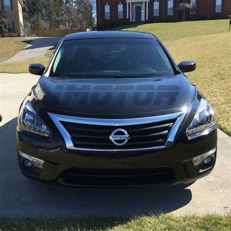 nissan altima 2015 black for 2013 2015 nissan altima sedan led drl projector