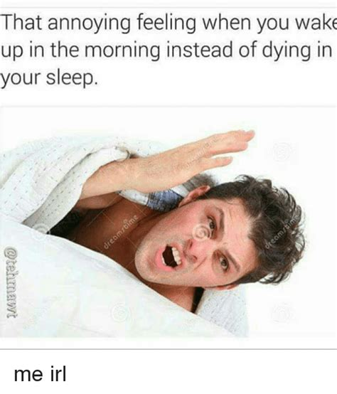 I Always Feel Better In The Morning 2 by That Annoying Feeling When You Up In The Morning