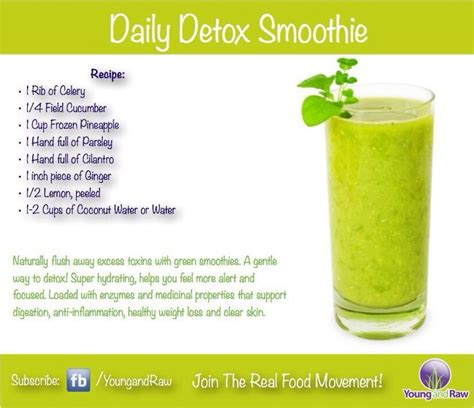 20 Detox Smoothies by Daily Smoothie Detox Health Mind Spirit