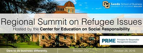 Executive Mba Cu Boulder by Cu Boulder Summit Oct 26 To Convene Business Government