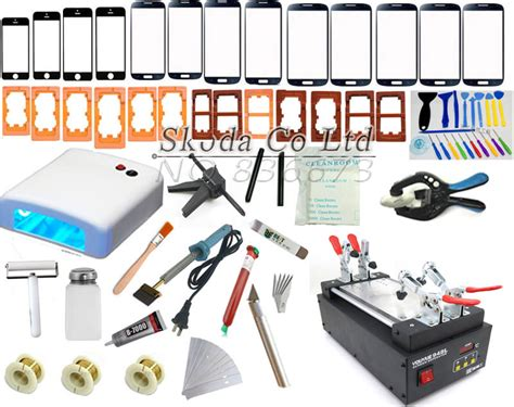 220v Silicon Heater Lcd Screen Separator Repair Tool Digital Display 110 220v for iphone 6 mobilephone touch glass screen repair kit lcd separator machine mould uv