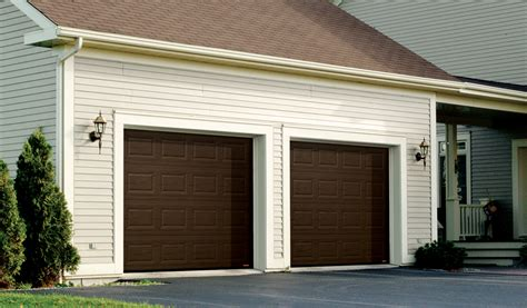 steel back garage door