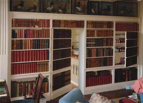 Door Bookcase Porte Secrete Dans Une Bibliotheque