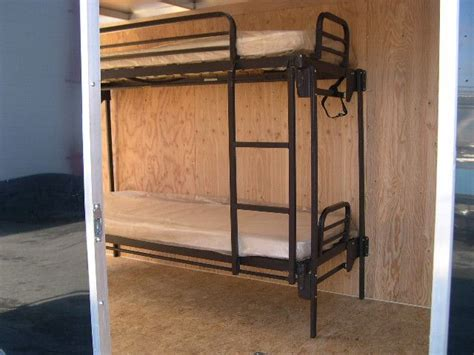 Trailer Bunk Beds Fold Up Bunk Bed For Trailers Cing