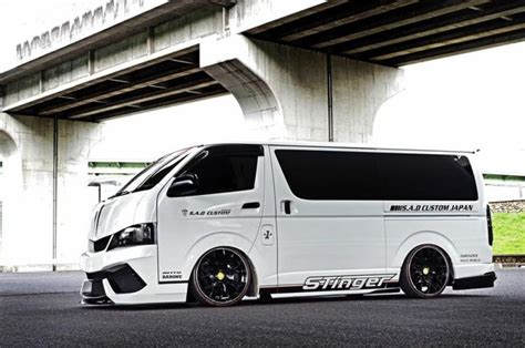 sad custom japan crazy toyota hiace