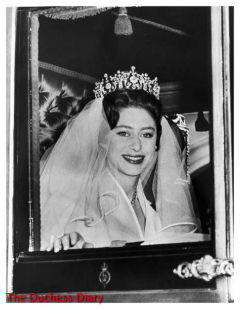princess margarets poltimore wedding tiara princess margaret the court jeweller highlights her most
