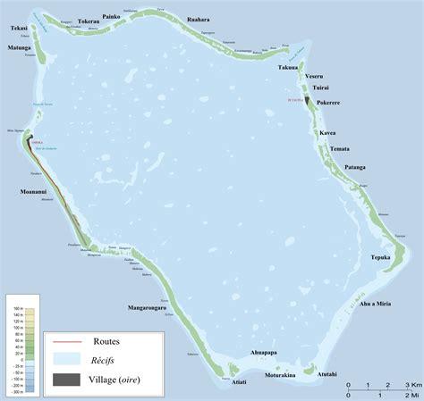 cook islands map world penrhyn map