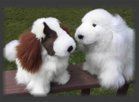 great pyrenees colors plush dogs great pyrenees style premium style alpaca