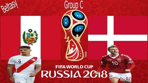 peru vs denmark fifa 18 peru vs denmark gameplay fifa world cup 2018
