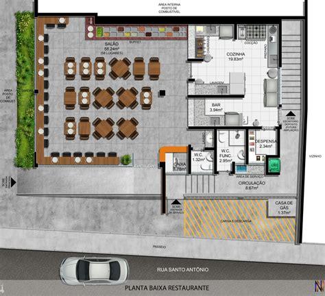 layout de um cafe planta baixa restaurantes pinterest plantas baixas