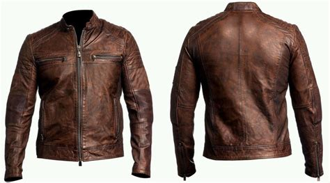 motor leather jacket ebay uk cafe racer leather jacket review about motors