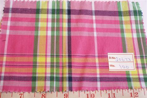 Patchwork Plaid Fabric - madras plaid fabric 7 patchwork madras fabric plaid