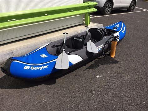 inflatable boat kent sevylor colorado premium inflatable kayak in tonbridge