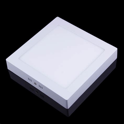 free shipping surface mounted square led panel light ac85