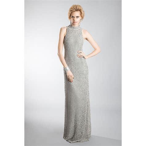 Longdress Kasandra coste american armhole dress silver