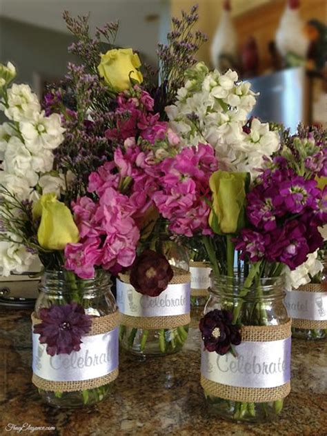 134 best images about wedding shower centerpieces in