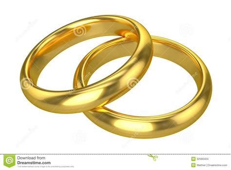 Eheringe Gold by Realistische Eheringe Gold Stockbilder Bild 32566404