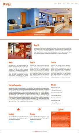 Orange Responsive Animated Template For Wysiwyg Webbuilder Www Wysiwygwebbuilder Com Wysiwyg Web Builder Responsive Templates