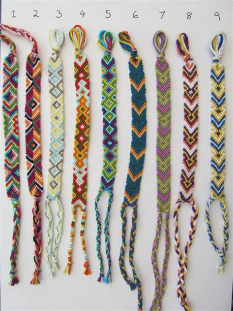 How To Make Handmade Friendship Bracelets - best 25 thread bracelets ideas on