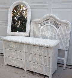 white wicker bedroom set yoap and yoap