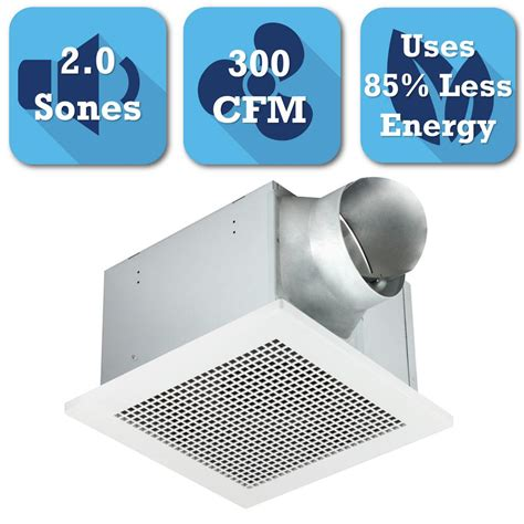 300 cfm bathroom fan hton bay 50 cfm ceiling bathroom exhaust fan 7114 01