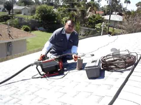Roof Plumbing Apprenticeship by Snaking Roof Vent Funnydog Tv