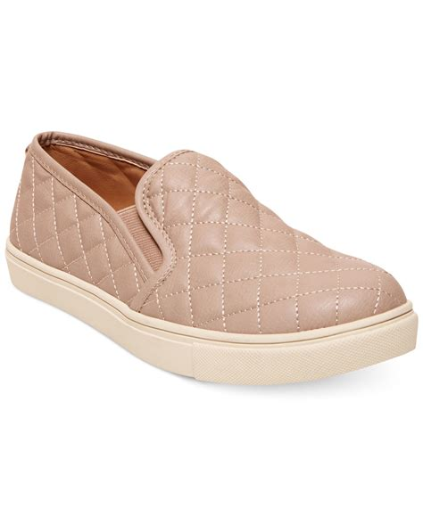 Steve Madden Ecentric Q Platform Sneakers by Steve Madden S Ecentric Q Platform Sneakers In Beige Gray Lyst