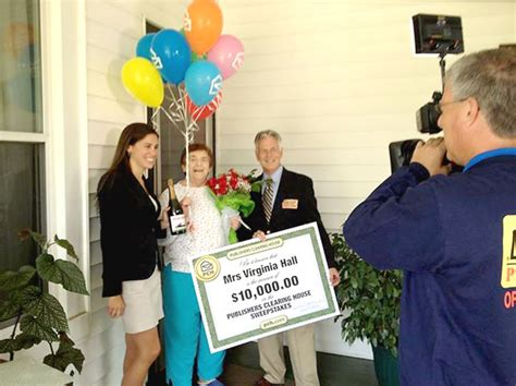 Publishers Clearing House Sign Up - eagle columnist surprised by publishers clearing house sweepstakes crew lifestyles