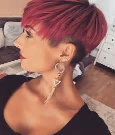 kurzhaarfrisuren damen farbe kurzhaarfrisuren in rot f 252 r temperamentvolle frauen hair trends und oder